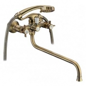 Смеситель ELGHANSA ванна крест кер. Praktic Bronze