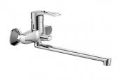 Смеситель VIKO ванна Ø40 (встроенный переключатель) L-40см/ (латунь)
