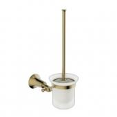 Держатель для туалетной щетки(ершик) настенный KAISER бронза (латунь)