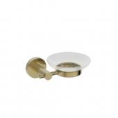 Держатель мыльницы(стекло) KAISER бронза (латунь)