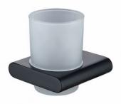 Держатель стакана(стекло) KAISER черный (латунь+цинк)