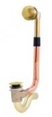 Обвязка для ванны KAISER автомат, латунь (золото)
