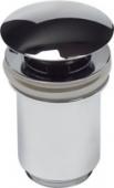 Донный клапан KАISER автомат, металл (хром)