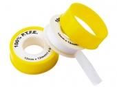 Лента ФУМ жёлтая (мал.) для газа 12mm*12m*0.25mm*0,2/WM/