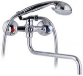 Смеситель KAISER Luna для ванны керамика с шаровым дивертером излив 320 мм
