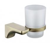 Держатель стакана(стекло) KAISER бронза (нерж)