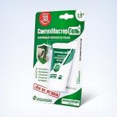 Гель сантехмастер зеленый тюбик 15гр. блистер