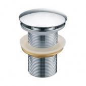 Донный клапан KАISER автомат, металл (хром), без перелива