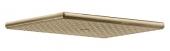 Душевая лейка KAISER стационарная прямоугольная, бронза 250*160