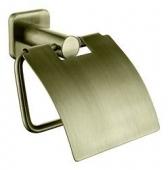 Держатель туалетной бумаги KAISER бронза (цинк)