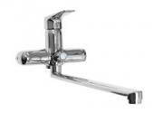 Смеситель VIKO ванна Ø35 (встроенный переключатель) L-35см, хром