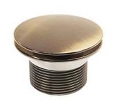 Выпуск для ванны KAISER автомат, металл (бронза)