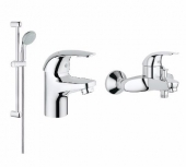 Комплект для ванны Grohe EuroEco (3 в 1)